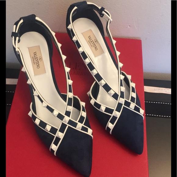 d0a3742f6a Valentino Garavani Shoes | Free Rockstud 40mm Dorsay Pump | Poshmark